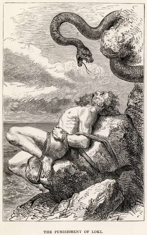 The Punishment of Loki by Louis Huard