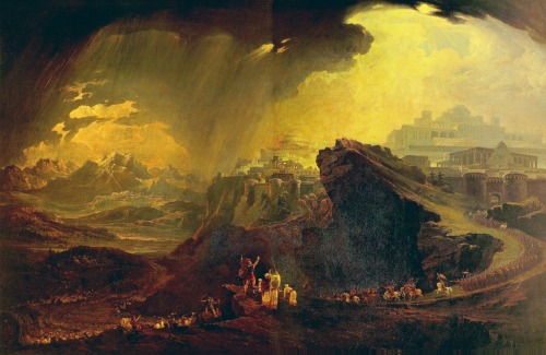 Joshua Commanding the Sun to Stand Still upon Gibeon by John Martin, 1816