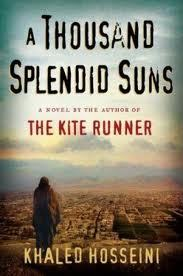 A Thousand Splendid Suns is a breathtaking story set against the volatile events of Afghanistan's  		last thirty years—from the Soviet invasion to the reign of the Taliban  		to the post-Taliban rebuilding—that puts the violence, fear, hope, and  		faith of this country in intimate, human terms. It is a tale of two  		generations of characters brought jarringly together by the tragic sweep  		of war, where personal lives—the struggle to survive, raise a family,  		find happiness—are inextricable from the history playing out around  		them. Propelled by the same storytelling instinct that made The Kite Runner a beloved classic, A Thousand Splendid Suns is at once a  		remarkable chronicle of three decades of Afghan history and a deeply  		moving account of family and friendship. It is a striking,  		heart-wrenching novel of an unforgiving time, an unlikely friendship,  		and an indestructible love—a stunning accomplishment   Damn good book.