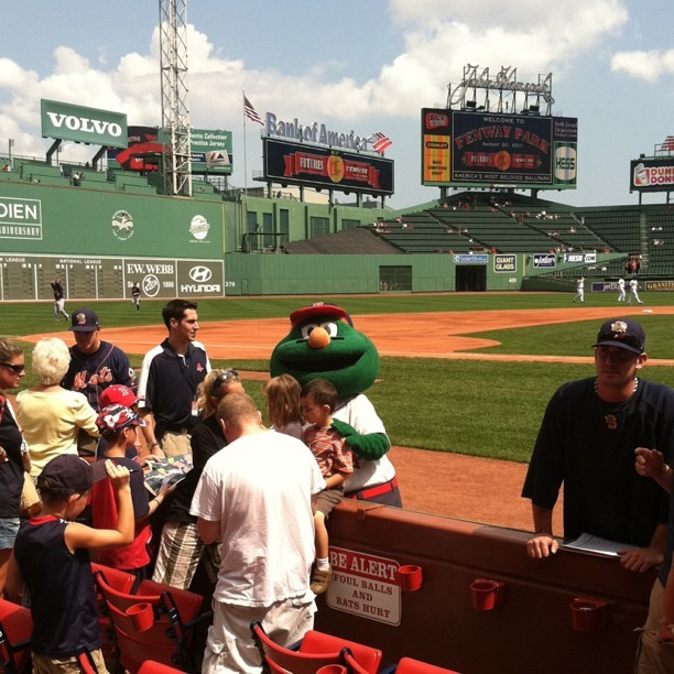 Wally at #FenwayPark (Taken with Instagram at Fenway Park)