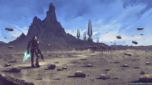 svalts:  Halo Fight - by Allen Giovanni Altiner