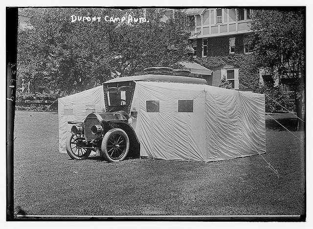 endwhitegenocide:  Dupont camp auto (LOC) by The Library of Congress on Flickr.