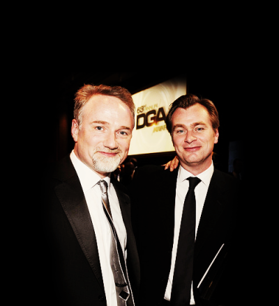 raychuhl:  David Fincher and Christopher Nolan  Demasiado amor junto! <3