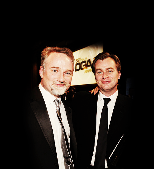 raychuhl:  David Fincher and Christopher Nolan