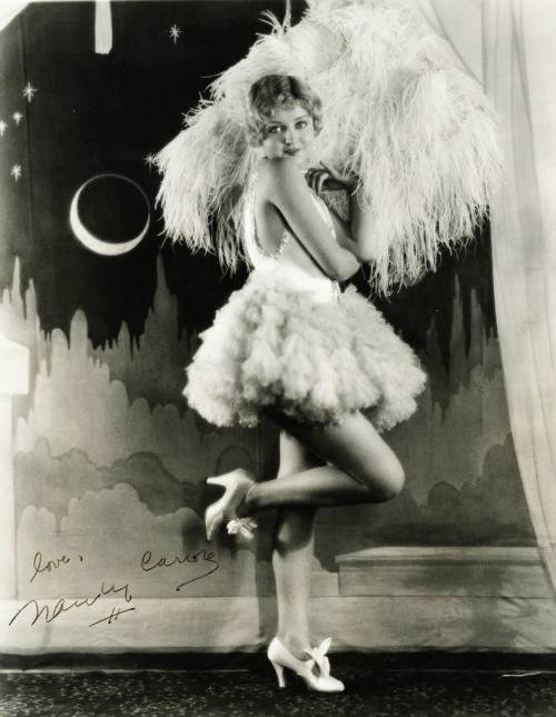 grand ruffles indeed vintagegal:  Nancy Carroll 1920's