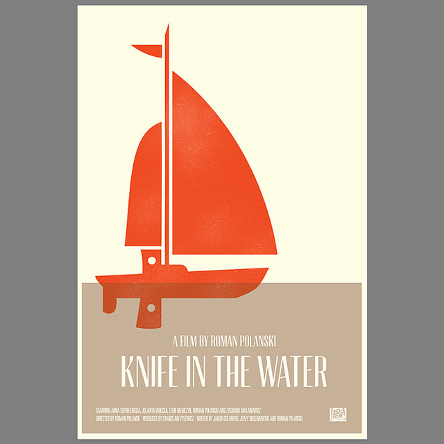 knife-in-the-water movie poster by simoncpage on Flickr.
