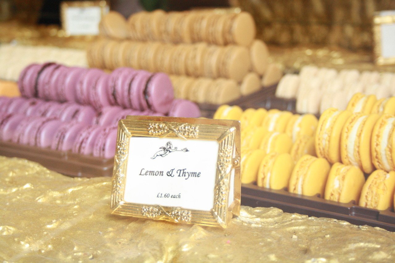 Laduree macarons: My gourmet equivalent of peering in the jewellery drawers at Chanel