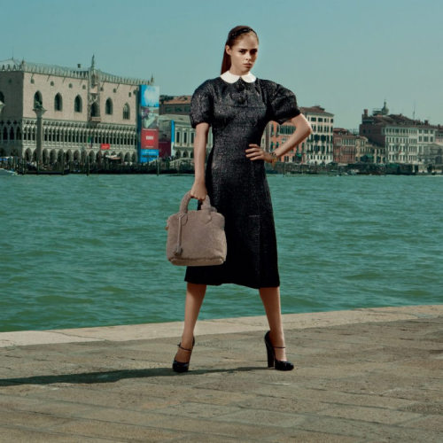 fashiongonerogue:  (via Coco Rocha for Americana Manhasset Fall 2011)  Peter Pan collars forever.