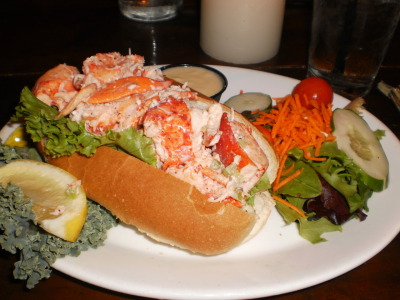 best lobster roll i've ever had. i miss you, cape cod.