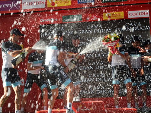 Vuelta a Espana 2011 | Stage 1 In your face. (via Team Sky | Pro Cycling | Vuelta a Espana | Latest News | Vuelta team time trial gallery)