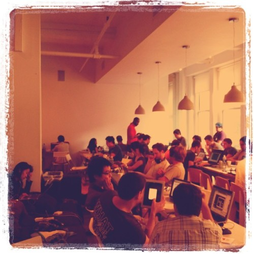 @WaddleApp at #photohackdaynyc (Taken with Instagram at General Assembly)