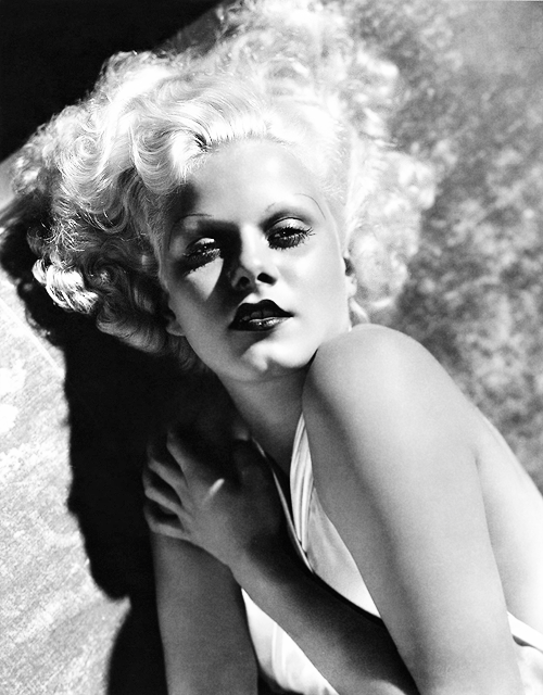 missavagardner:  Jean Harlow photographed by George Hurrell, 1933.
