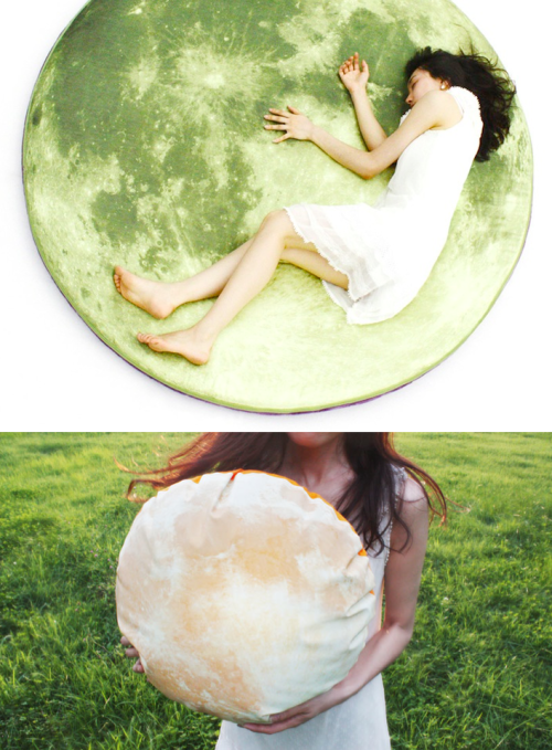 moon mattress & pillow from i3lab