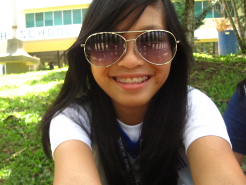 Me during the Intrams last year.  I hope this year's gonna be better. I'm gonna be playing volleyball and futsal [x