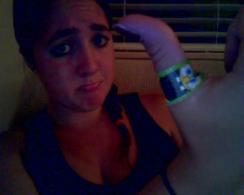 i got a booboo today while jetskiing but i have a spongebob bandaid so it's ok now :-)