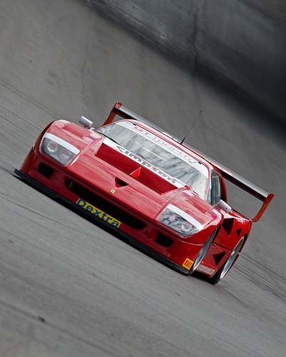 automotivated:  GT Trophy Simpson Motorsport Ferrari F40 (A Mott) (by ghand_39)