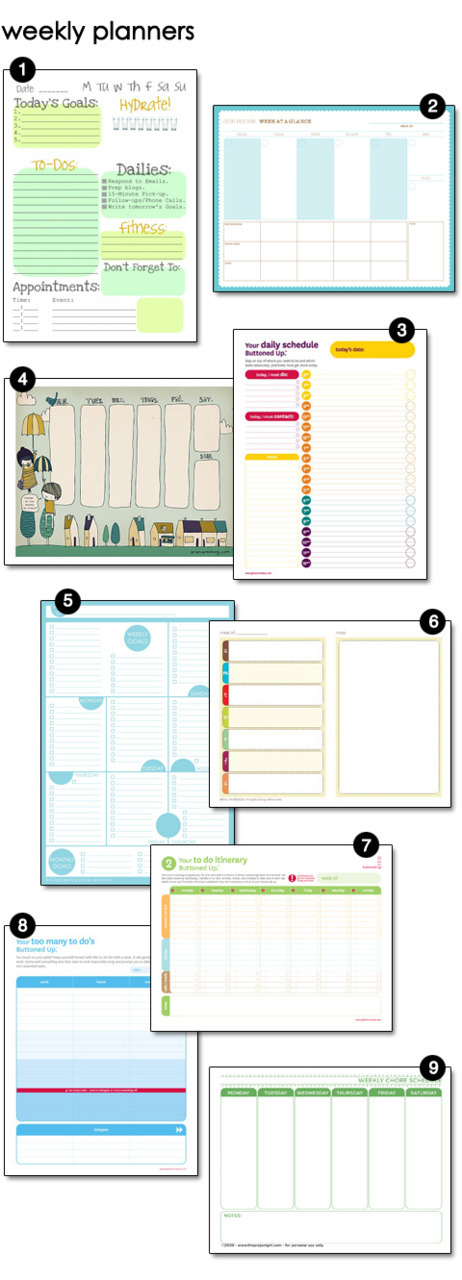 craftyscientist:  (via Sunday Planning – design finch)  well I know what I'm working on crafting this weekend.