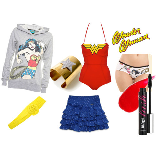 i want it all and i want it now. fuckingawesomepolyvore:  Wonder Woman