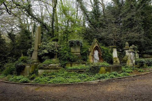 The Highgate cemetery (st. James)