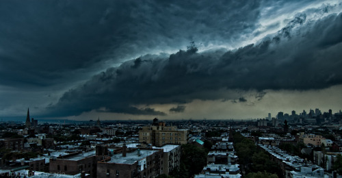 """Storm over Brooklyn"" by Antonio M. Rosario"