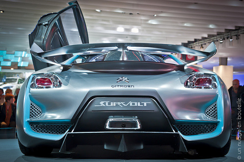 carpr0n:  Ubercharged Starring: Citroën Survolt (by Vincent Montibus)