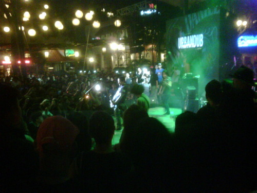 Urbandub at Jack Daniel's Chosen 7 Tour Launch, Eastwood City Plaza