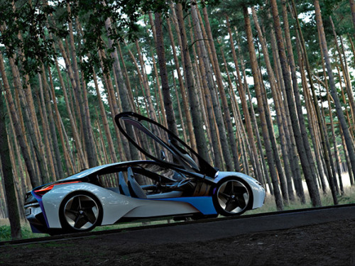 that loooovely BMW concept car, I actually get to see it tomottow =)=)=)