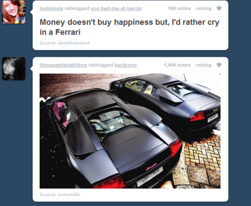 waterfor-elephants:  my tumblr friends are in sync today lol  truth
