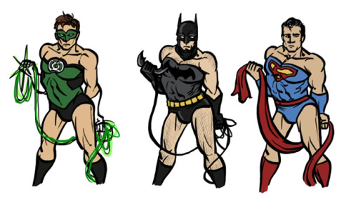 womenaresociety:  If Male Superheroes Posed Like Women