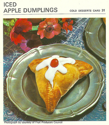 What's For Tea Mother ? Iced Apple Dumplings