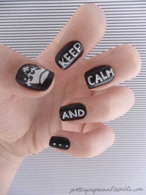 justtryinyournail:  Keep Calm…