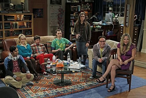 "tbbtftw:  The Big Bang Theory""The Skank Reflex Analysis""Season 5Episode 1"