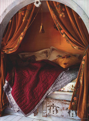 My Bohemian Home ~ Bedrooms and Guest Rooms This photo has certainly made the rounds, and for good reason. It's so lovely!