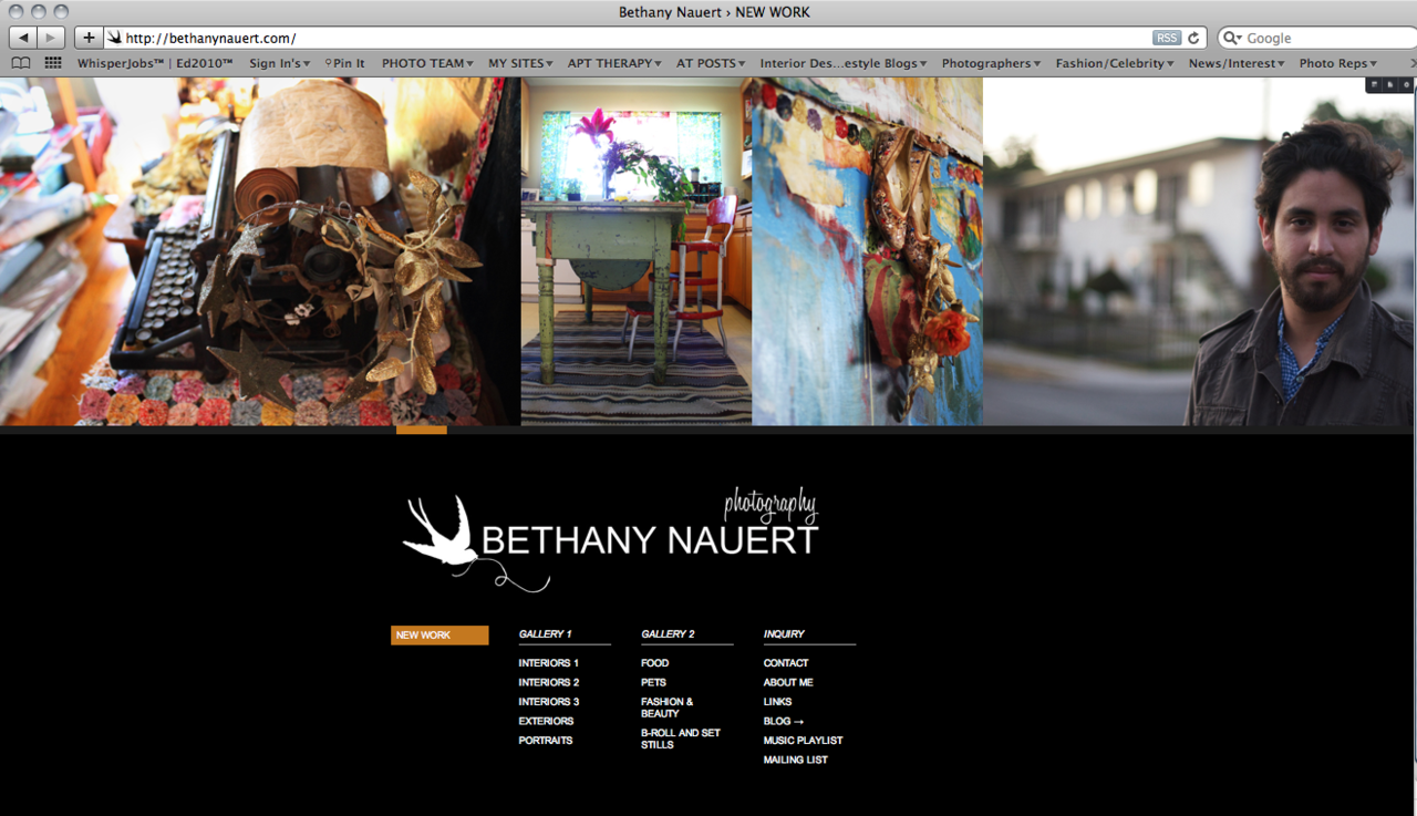When it comes to switching up the face of my website, sometimes I like to try something completely opposite of what I used to have. Today I've gone noir….