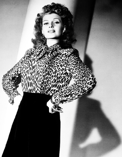 missavagardner:  Rita Hayworth photographed by George Hurrell, 1942.