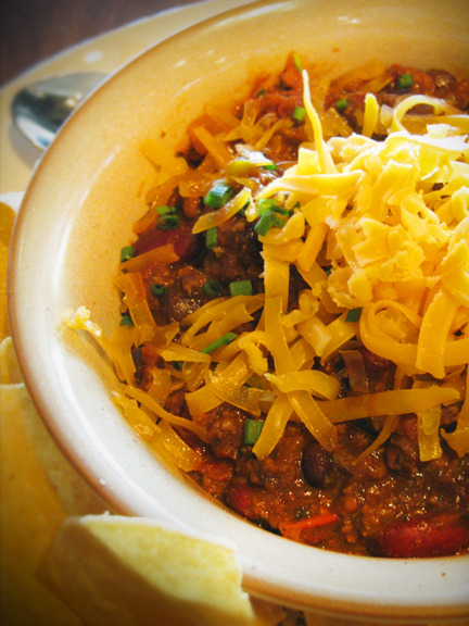 What does chili have to do with drinking, you ask? This is a Guiness Chili at Deckard's in Atlanta. (Nice website design, by the way). This was the only food item I needed to order. I paired it with a Bloody Mary on Sunday morning, and was one happy lady. Photo credit: Lush Lady