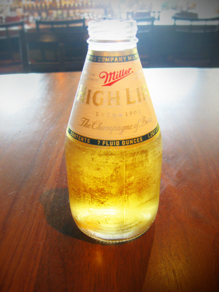 Cutest. Beer. Ever. A Miller High Life, pony style. Photo credit: Lush Lady