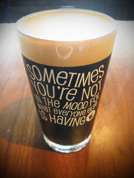"I am becoming a huge fan of milk stouts, and this one further convinced me of their deliciousness. By Left Hand Brewing Co. (omg their website is amazing), it was ""udderly delightful"". Thank you, Deckard's, for carrying this seriously tasty brew. Photo credit: Lush Lady"