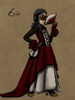 Eris from The 3rd Council!  Character (c) Evayoart.deviantart.com