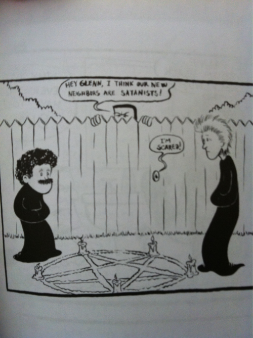Hall & Oates as Henry & Glenn's Satanic neighbors!