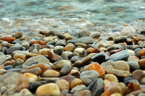 Rocks + Water = Beautiful Coastal Abstracts by Mari Vican
