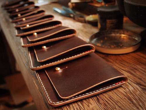 hollowsleather:  Archival Clothing Flap Wallet now available at the AC web store. More here.