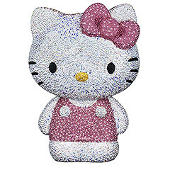 Swarovski Hello Kitty figurine - This is $8,000 on Swarovski's website!!!!
