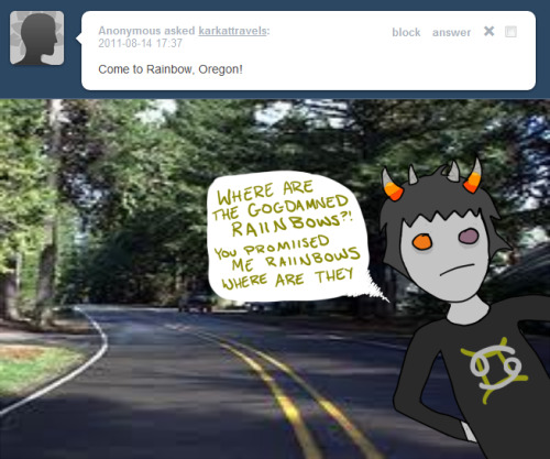 SOLLUX YOU DUMBASS. MOST OF THE ANONS LIE. SORRY TO BREAK THE BAD NEWS, THERE IS NO RAINBOWS.