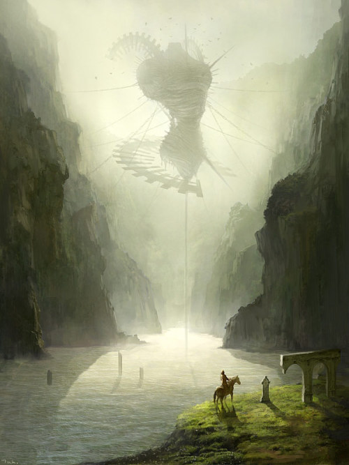 everybodyschangeling:  Reminds me of Shadow of the Colossus