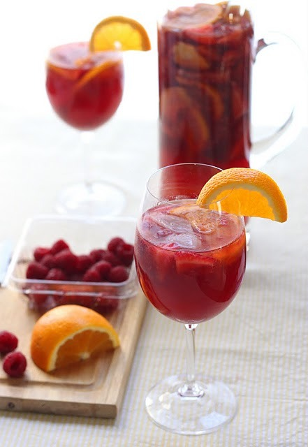 DRINK. Rose Sangria
