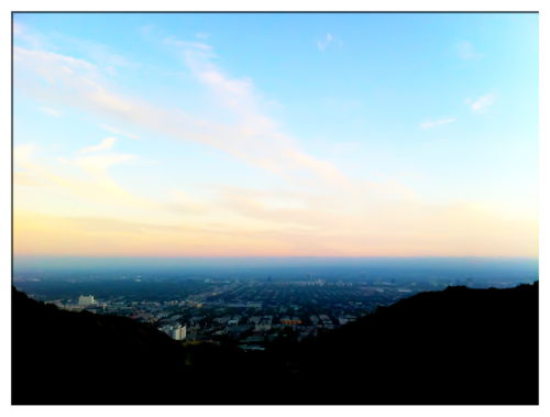 My city of angels, Runyon Canyon, possibly the world's best view to run to.