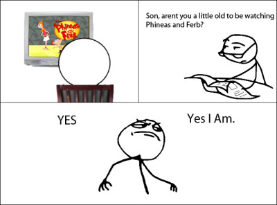 cerealguycomic:  Newspaper Dad - Yes I am