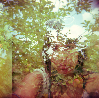 my holga self portraits when i travel