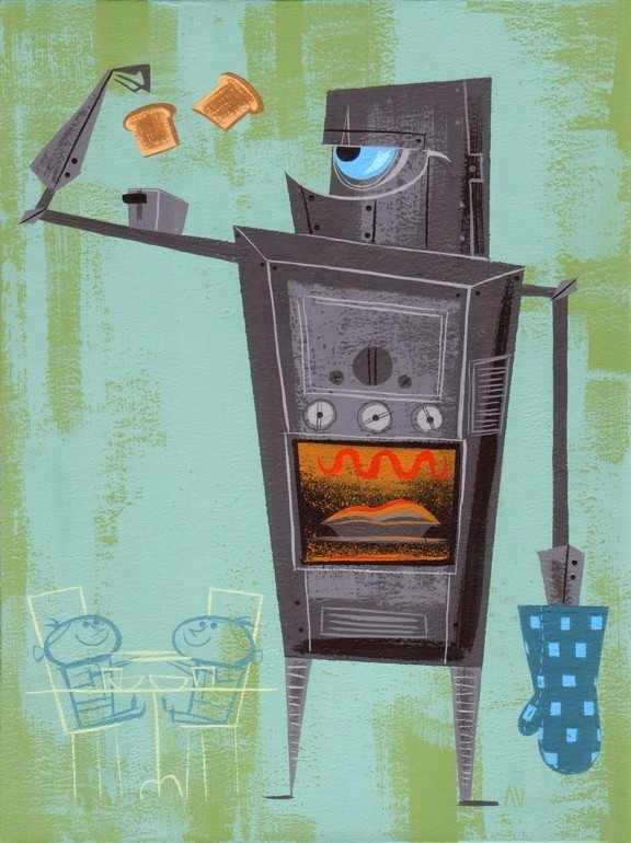 Mighty, Mighty Kitchen Robot